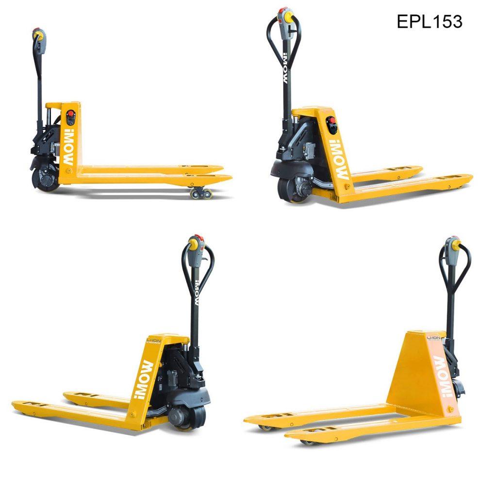 Elektrische palletwagen - iMOW EPL 153 overzicht